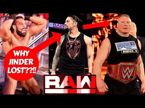 Why JINDER MAHAL Lost United States Championship?! |WWE Superstar Shake Up Raw 4/16/18 Highlights|
