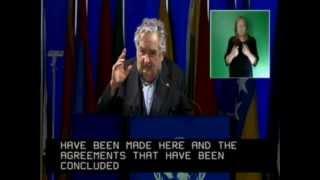 Mujica habló ante 139 países presentes en la cumbre Río+20