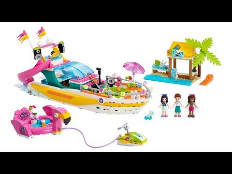 ИНСТРУКЦИЯ Lego friends Яхта для вечеринок