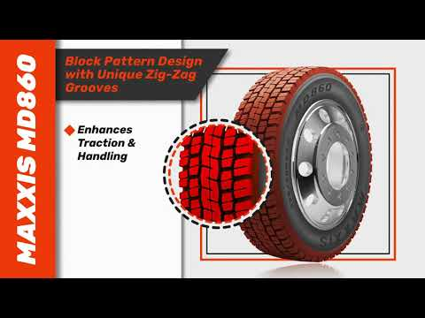 Maxxis MD860 Truck Tyre