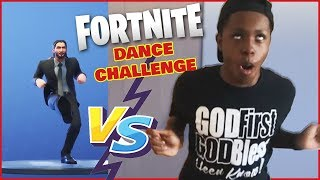 Fortnite Dance Challenge #3 - Is Trent The BEST Dancer In The Family?!