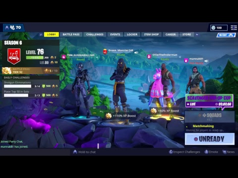 Playing with viewers Newest Member of Kyaxz clan live Fortnite Ps4