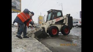 Аренда техники для уборки снега в Киеве 098 159 0 159 - видео 2