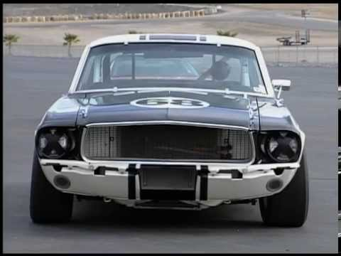 Download 1967 Shelby Mustang Coupe Group 2 Race Car Dream Car Garage 2002 TV series HD Mp4 3GP Video and MP3