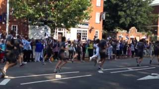 preview picture of video 'London 2012 Olympic Torch Relay in Tottenham'
