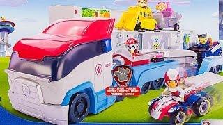 Ciężarówka Psi Transporter | Psi Patrol | Bajki dla dzieci i unboxing