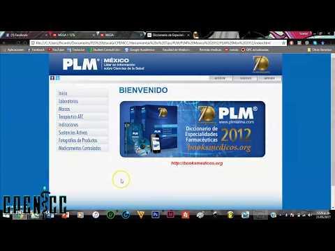PLM (Diccionario de especialidades medicas)    CPENICC