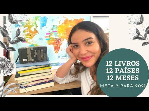 Vamos viajar na literatura? META 2 DE 2021! 12 livros, 12 países, 12 meses!