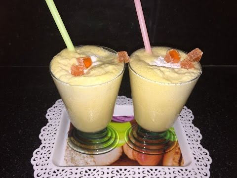 Orange vanilla shake - Quick Mocktail