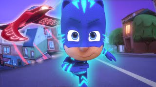 Catboy Races Owlette's NEW Owl Glider! | 2021 Season 4 | Catboy Special | PJ Masks Official
