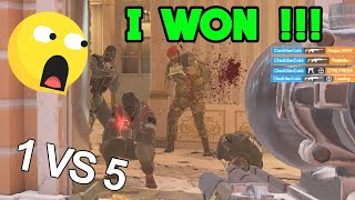 They got DOMINATED and my Team LOVED IT - Rainbow Six Siege Gameplay
