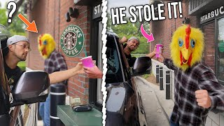 BUYING STARBUCKS for OUR FANS ONLY but Someone Else Stole a DRINK! (FV Family Vlog)