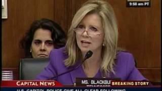 Rep. Blackburn Questions Al Gore on Charitable Giving