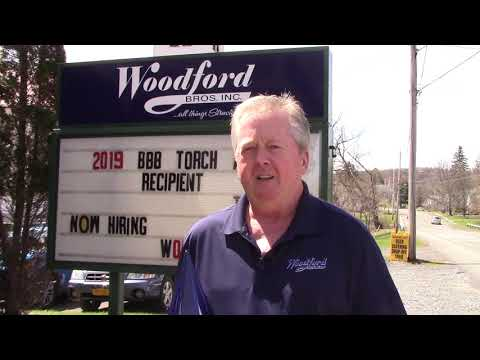 Thank you to our friends at the Better Business Bureau of Upstate New York for naming Woodford Bros. Inc. a...