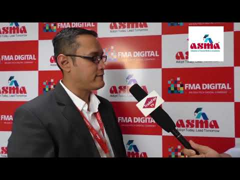 Mr. Shubham Chatterji, Senior Business Manager, SAS India at ASMA Annual Convention 2017
