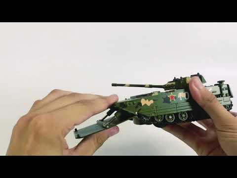 Металлический лёгкий плавающий танк Double Horses «Type 05AAV (Китай)» 0231, 15 см.  / Микс