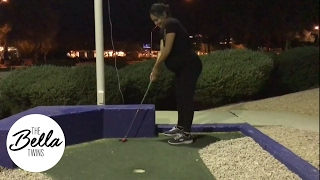 Minigolf helps induce labor right