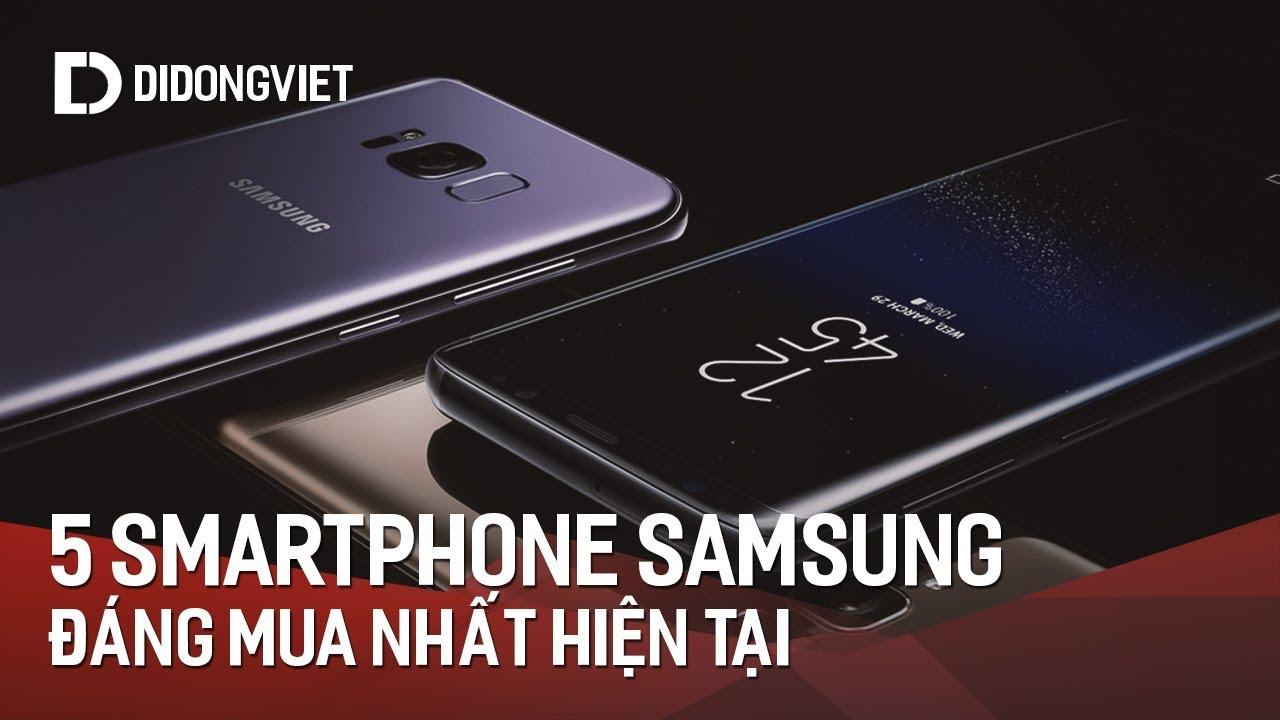 Top 5 smartphone Samsung đáng mua nhất thời điểm này tại Di Động Việt