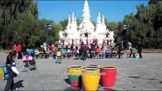 Video : China : Dance at the Ethnic Culture Park 中华民族园, BeiJing - video