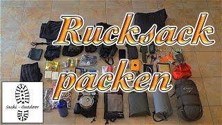 Wanderwissen: Rucksack richtig packen