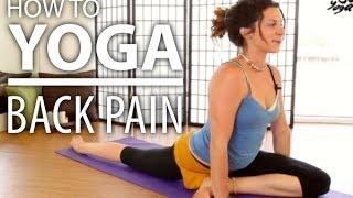 Yoga For Back Pain - 30 Minute Back Stretch, Sciatica Pain, & Flexibility Yoga Flow by YOGATX