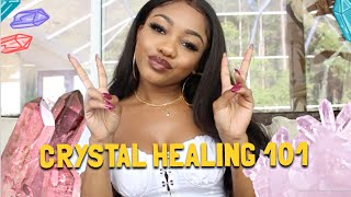 How to FEEL & TEST CRYSTAL ENERGY! 💕 | CRYSTAL SHOPPING 101