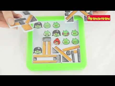 Логическая игра BONDIBON Smart Games - ANGRY BIRDS PLAYGROUND