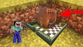 Мир УМЕНЬШИЛСЯ нуб в Майнкрафт! Апокалипсис Как найти Самую маленькую деревню дом с ловушкой МУЛЬТИК