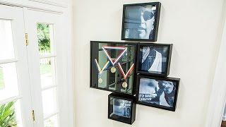 How To - Ken Wingards DIY Memorial Medal Display Case - Hallmark Channel
