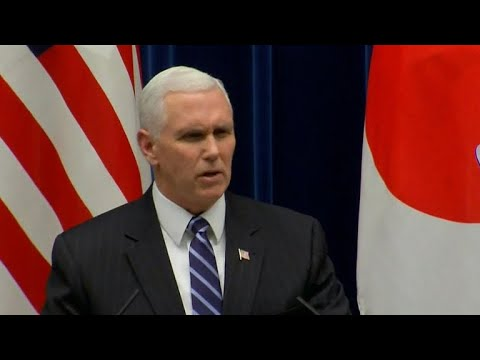 "Pence vows U.S. will hit North Korea with ""toughest"" sanctions"