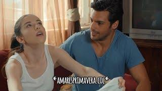 Amar Es Primavera Capitulo.3   Oyku Finge Estar Enferma & Ayaz La Cuida