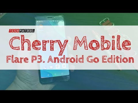 Cherry Mobile Flare P3 with Android Go Edition