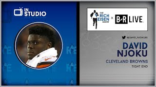 Browns TE David Njoku Talks Beckham, Mayfield, The U & more w/Rich Eisen | Full Interview | 7/2/19