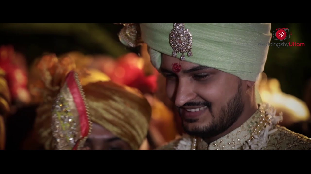 Beautiful wedding video captured as Jinisha weds Harsh in style!