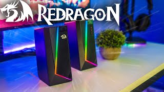 Unboxing and Review -  Redragon GS520 Anvil RGB Gaming Speakers