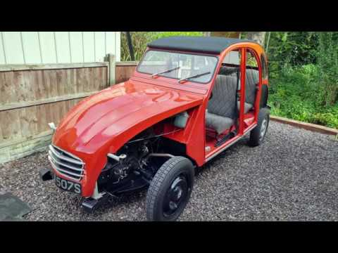 The restoration of a 1978 Citroen 2CV from start to finish.