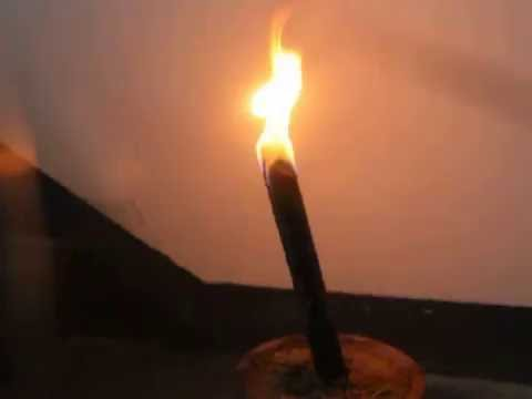 Wax torch 25cm burning time 60 minutes