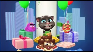 Мой Говорящий Том 2 День Рождения Тома
