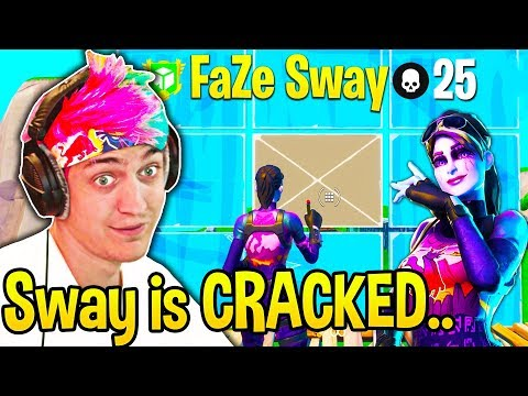 , title : 'Ninja *SPECTATES* FaZe SWAY! Can't BELIEVE How FAST His 90s and EDITS are!'
