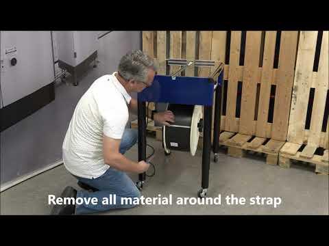 M-Pac V: Insertion of strap