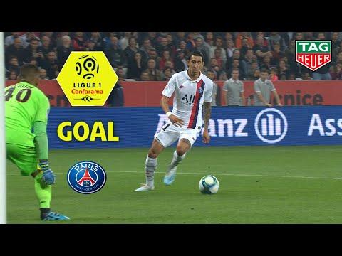 Goal Angel DI MARIA (15′) / OGC Nice – Paris Saint-Germain (1-4) (OGCN-PARIS) / 2019-20