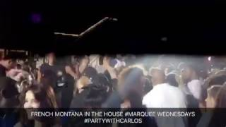 French Montana at Marque