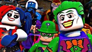 LEGO DC SUPER VILLAINS - All Cutscenes Full Movie