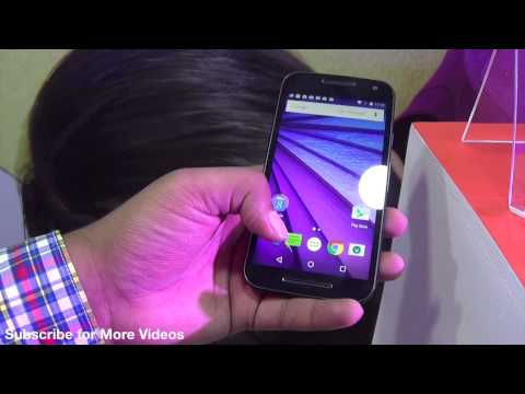 Motorola Moto G 3rd Generation Hands on Review