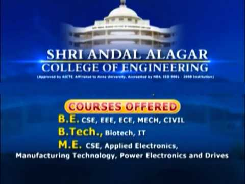 Shri Andal Alagar College of Engineering video cover1