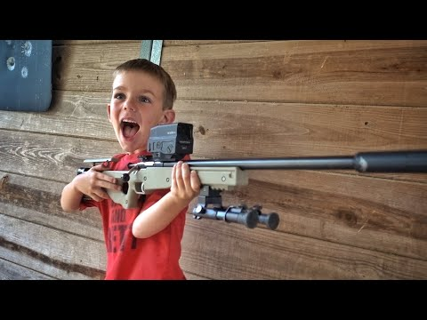 Surprising Him with his First Gun!!!