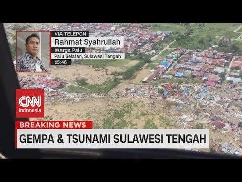 Kondisi Korban Gempa Palu Selatan