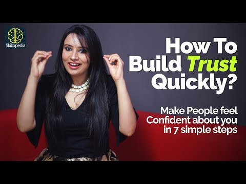 How to build Trust and Confidence in people? Personality ...