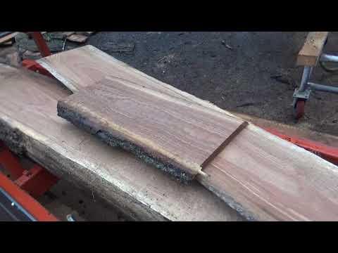 Adjustment to shingle jig for Woodmizer Lt15 - смотреть