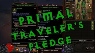 Diablo III Season 11 - Crafting a Primal Ancient Traveler's Pledge